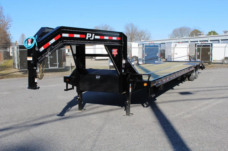2020 PJ Trailers 40ft LD 25K GN w/ Monster Ramps