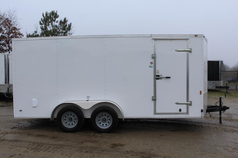 2018 Continental Cargo 7X16 w/Ramp Door