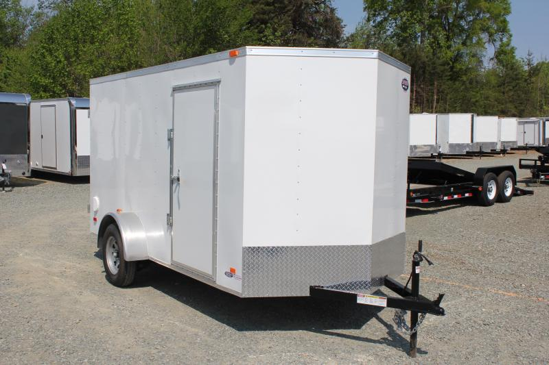 2018 Bravo Hero 6x12 w/ Double Rear Door