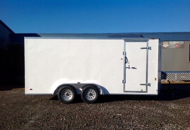 2018 Continental Cargo 7X16 w/ Double Rear Doors