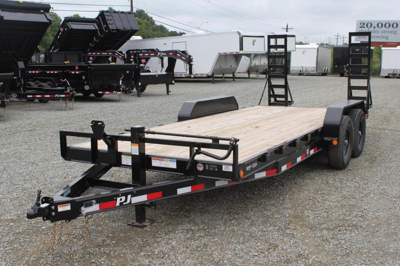 2019 PJ Trailers 20CC 14K w/ Fold Up Ramps