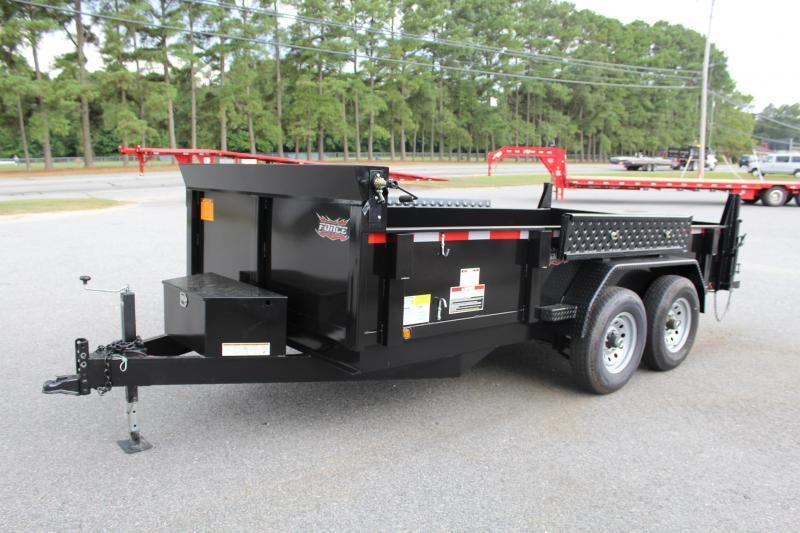 2017 Continental Cargo 7X14 Force Dump Trailer