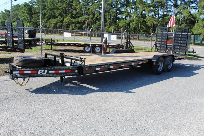 2018 PJ Trailers 28ft H5 Equipment Trailer