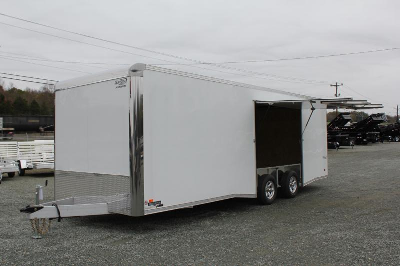 2019 Bravo Trailers Aluminum Star 8.5X24 w/ Side Escape Door & Ramp