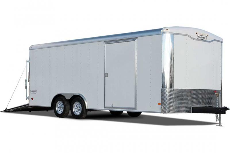 2018 Haulmark TRANSPORT 8.5 X 24 ESCAPE DOOR 10K