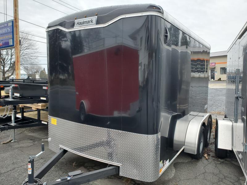2020 7 x 12 Tandem 7k Haulmark TRANSPORT Enclosed Cargo Trailer