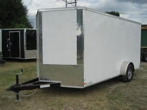 2018 Homesteader Inc. 612PS Enclosed Cargo Trailer