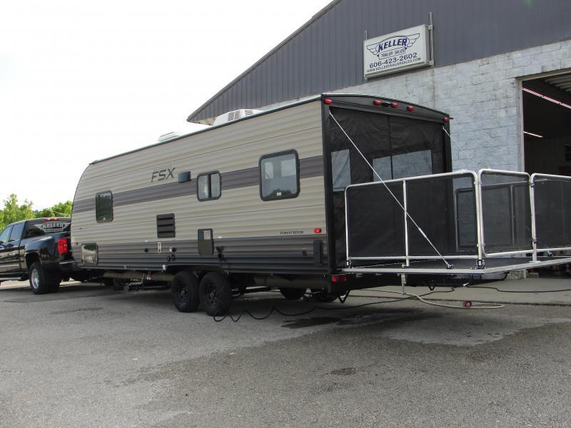 2020 Wildwood 260RT Toy Hauler Travel Trailer