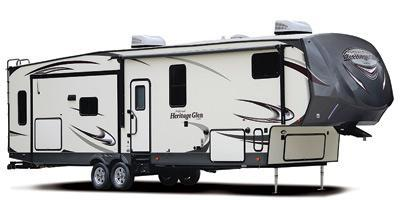 2018 Heritage Glen 356QB Travel Trailer