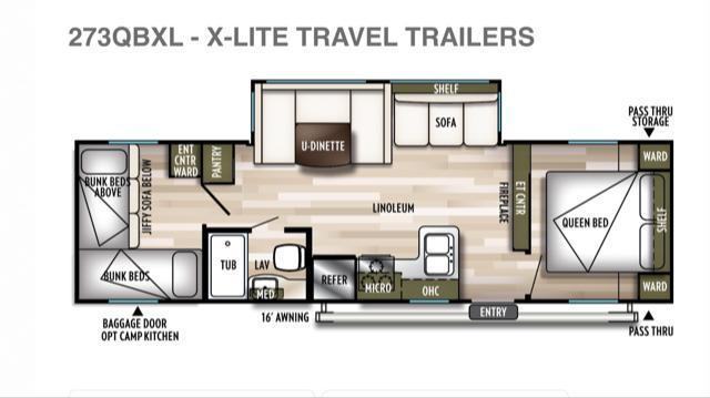 2019 Forest River Inc. 273QBXL Travel Trailer