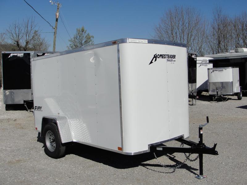 2019 Homesteader Inc. 510FS Enclosed Cargo Trailer