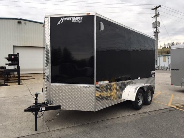 2019 Homesteader Inc. 714IT Enclosed Cargo Trailer