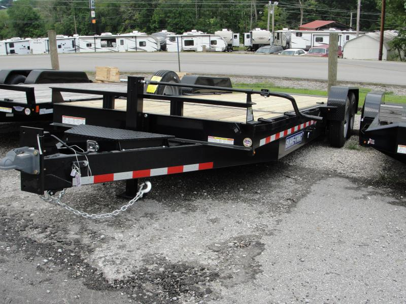 2019 Sure-Trac Equipment Tilt 7X18+4 Utility Trailer