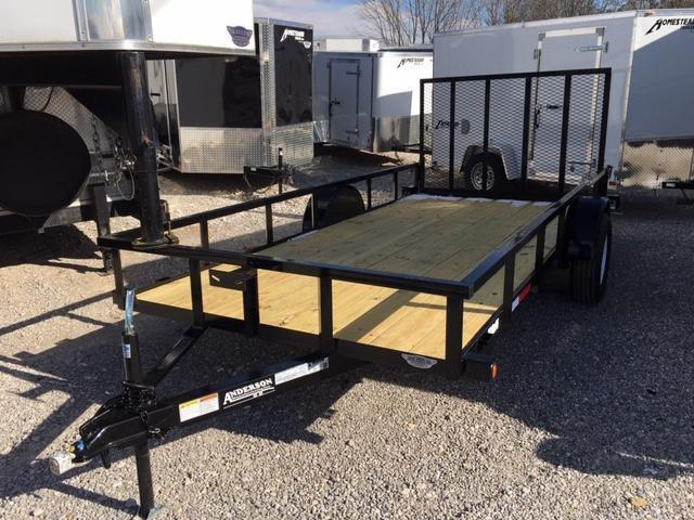 2019 Anderson Manufacturing LS614 Utility Trailer