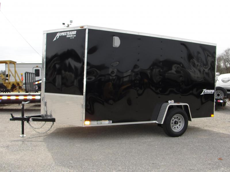 2019 Homesteader Inc. 712IS Enclosed Cargo Trailer