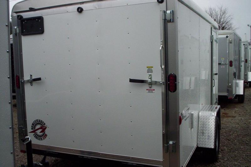 2018 Homesteader Inc. 712PS Enclosed Cargo Trailer