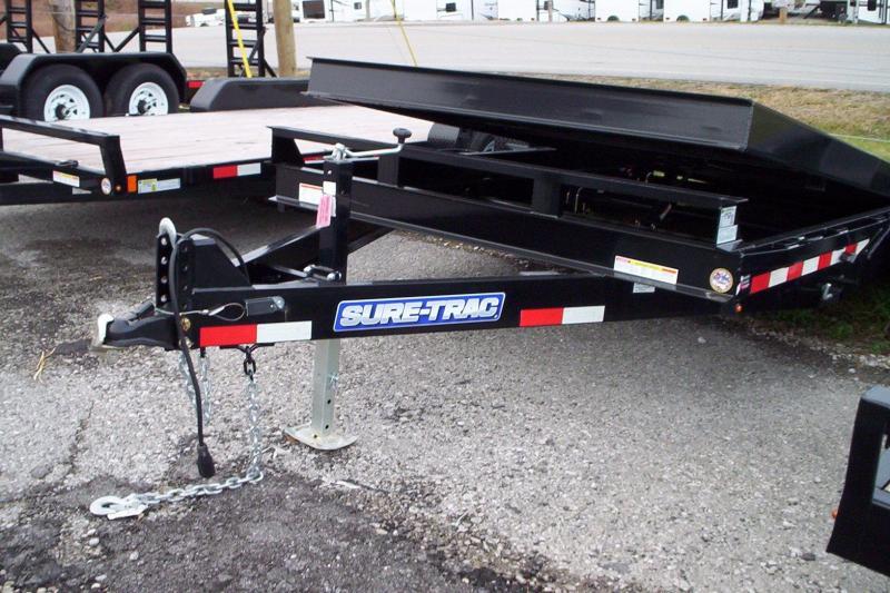 2017 Sure-Trac ST8218FWTE-B-140 Utility Trailer