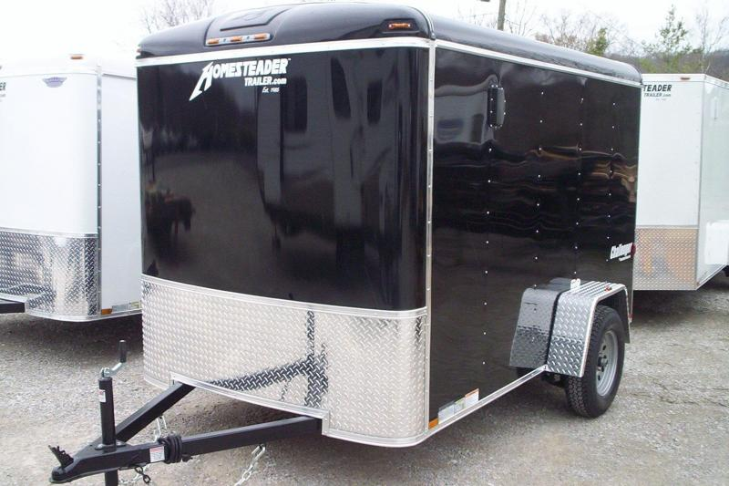 2018 Homesteader Inc. 610CS Enclosed Cargo Trailer