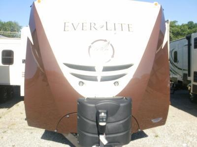 2014 EverGreen Recreational Vehicles Ever-Lite 29RLW Camping / RV Trailer