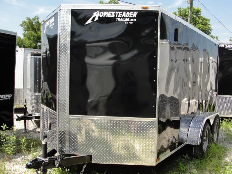 2018 Homesteader Inc. 712PT Enclosed Cargo Trailer
