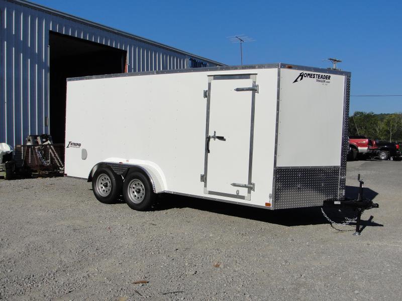 2019 Homesteader Inc. 716IT Enclosed Cargo Trailer