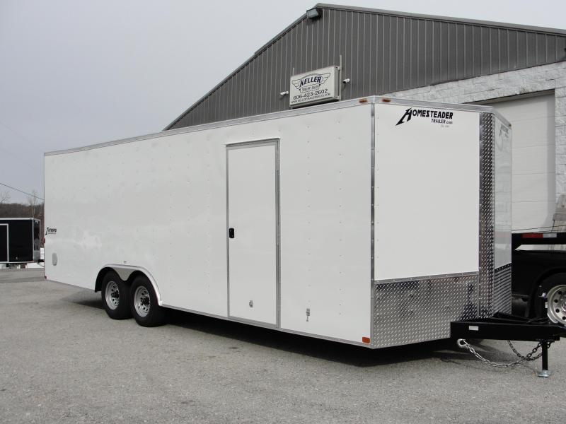 2019 Homesteader Inc. 824IT Enclosed Cargo Trailer