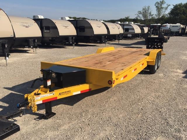 2019 Anderson Manufacturing EQ7248T Equipment Trailer