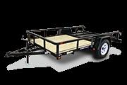2017 Sure-Trac ST7210TA-B-030 Utility Trailer