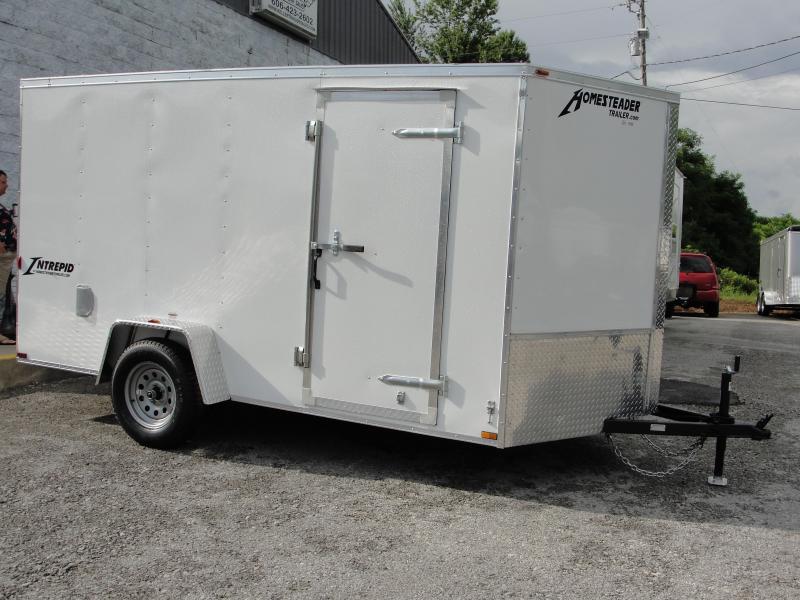 2019 Homesteader Inc. 712IS Enclosed Cargo Trailer