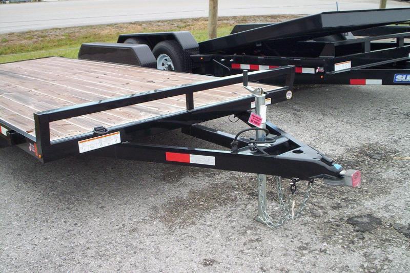 2017 Sure-Trac ST8218CHW-B-070 Utility Trailer