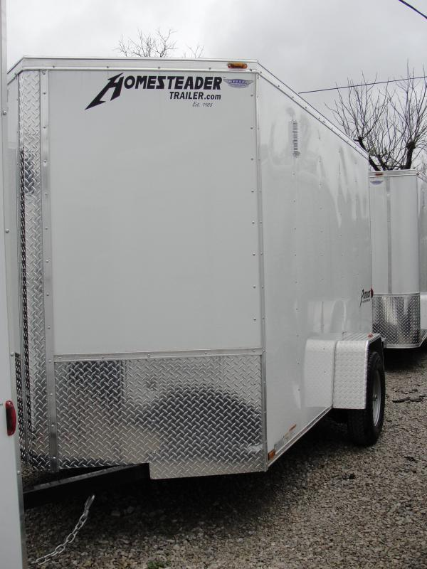 2018 Homesteader Inc. 610PS Enclosed Cargo Trailer