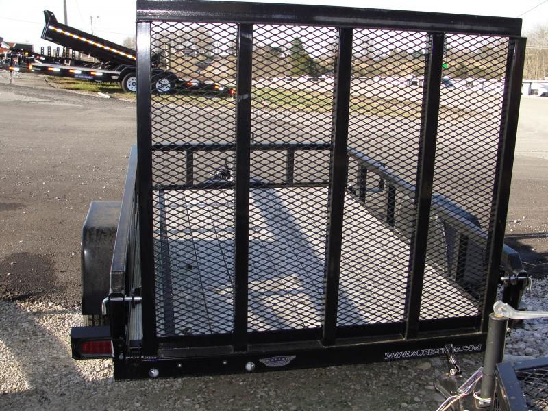 2016 Sure-Trac 5x8 ST6208TA-B-030 Utility Trailer