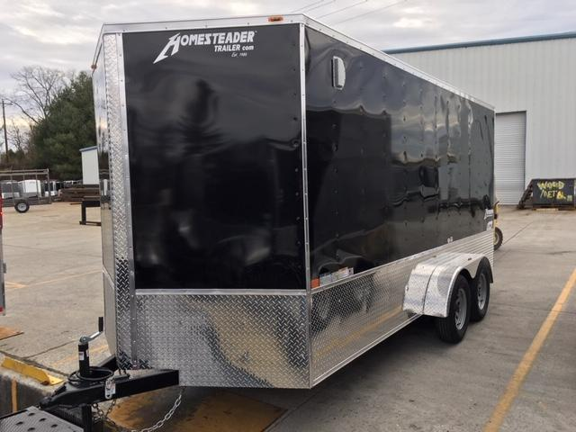 2019 Homesteader Inc. 716IT Enclosed Cargo Trailer