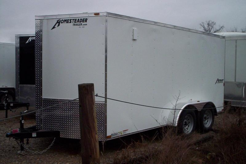 2018 Homesteader Inc. 714PT Enclosed Cargo Trailer