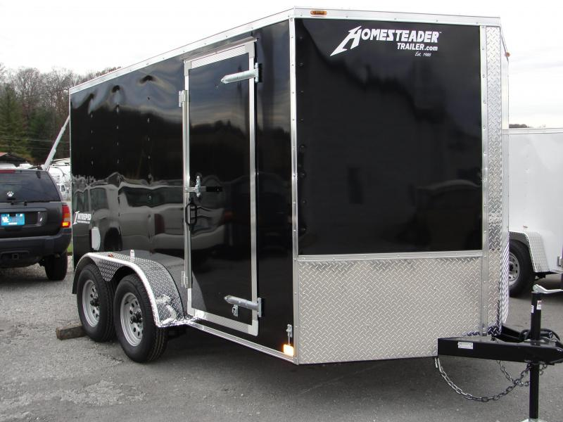 2019 Homesteader Inc. 712IT Enclosed Cargo Trailer