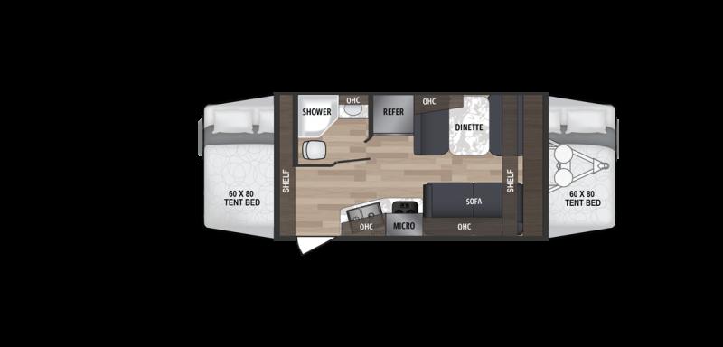 2019 Kodiak 172E Travel Trailer