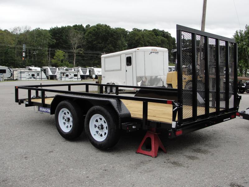2019 Sure-Trac 7 X 14 Tube Top Utility 7k Tandem
