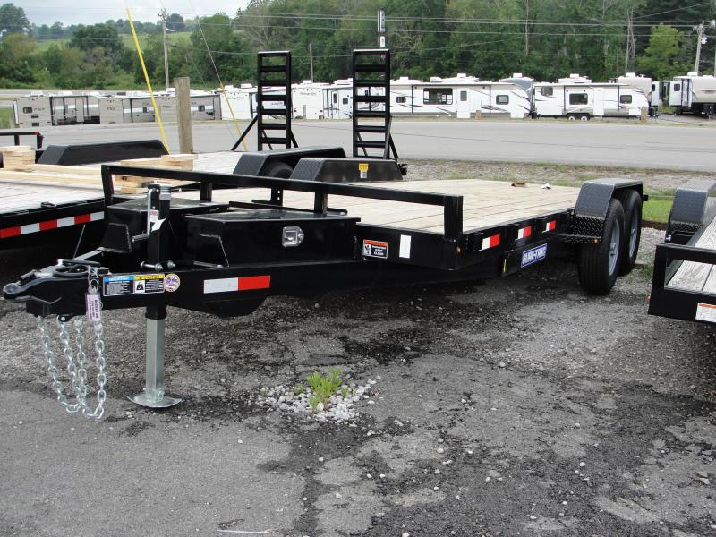 2019 Sure-Trac 7x20 Tilt Bed Car Hauler Utility Trailer