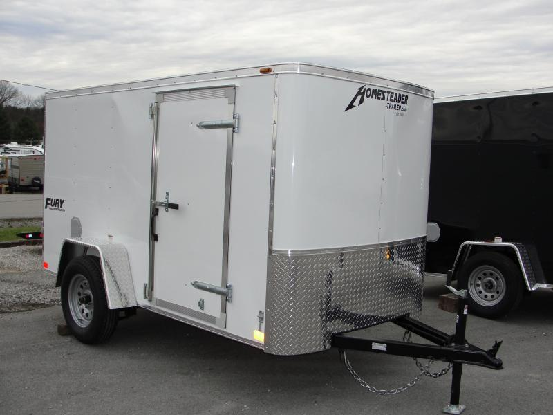 2019 Homesteader Inc. 510FS Enclosed Cargo Trailer