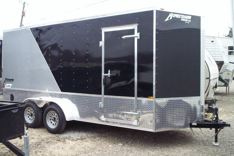 2018 Homesteader Inc. 716IT Enclosed Cargo Trailer
