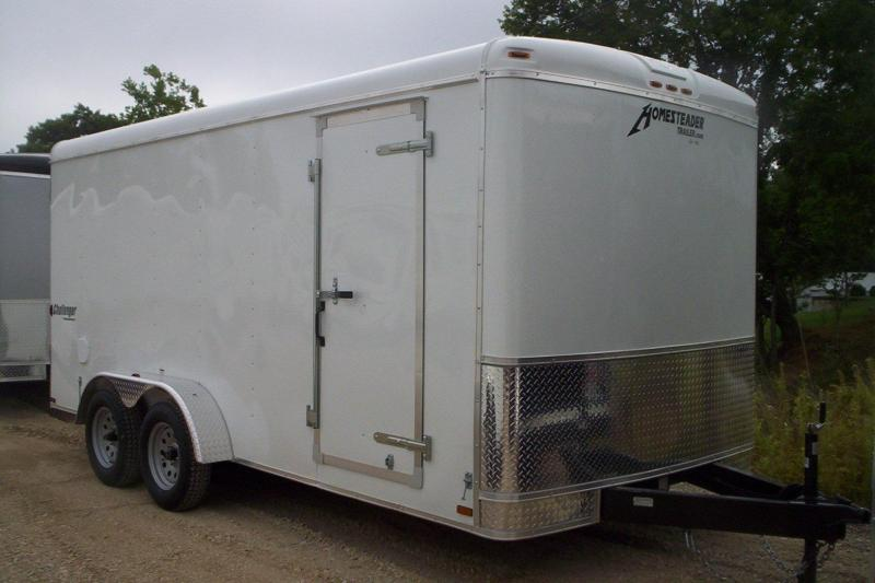 2017 Homesteader 716CT Enclosed Cargo Trailer w/ swing door