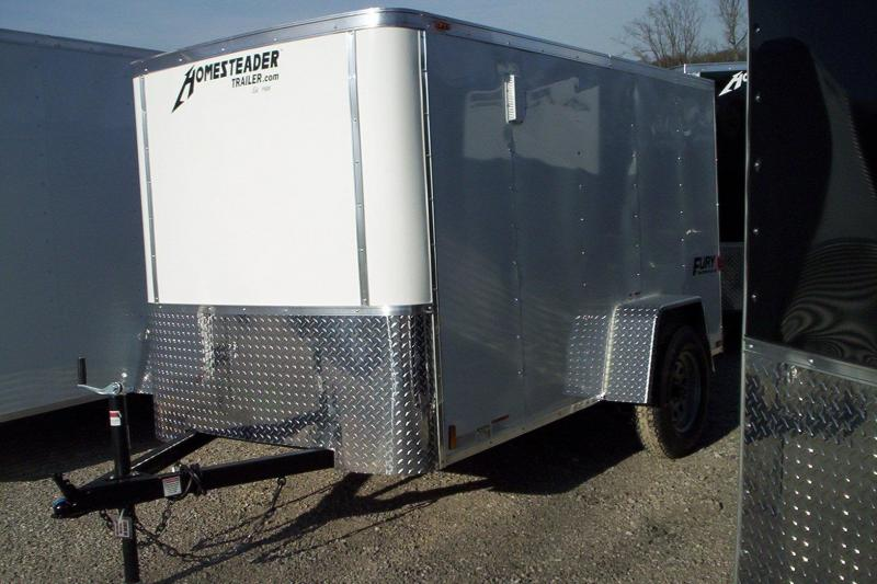 2018 Homesteader Inc. 510FS Enclosed Cargo Trailer