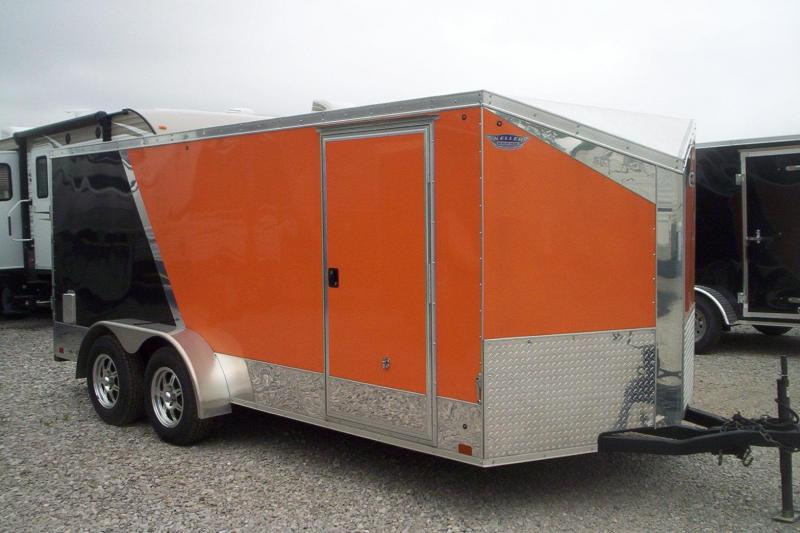 2015 Cross Trailers 7X16 TA Enclosed Cargo Trailer