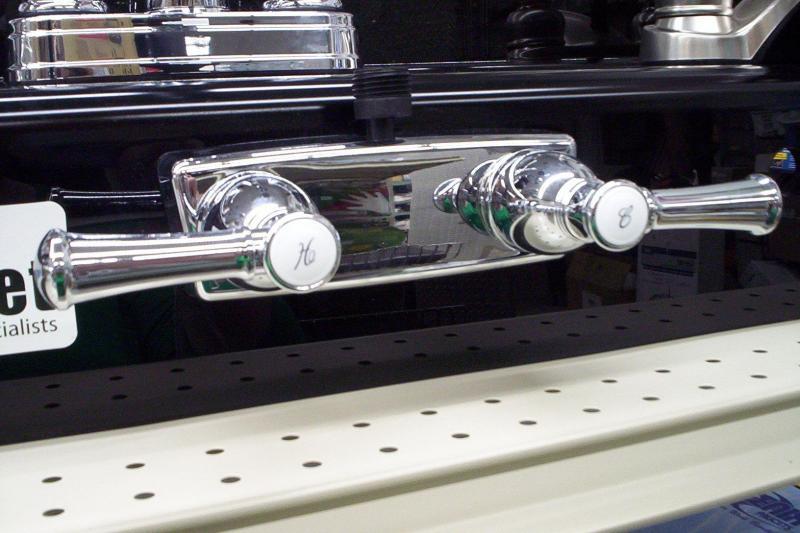 Designer Shower handles
