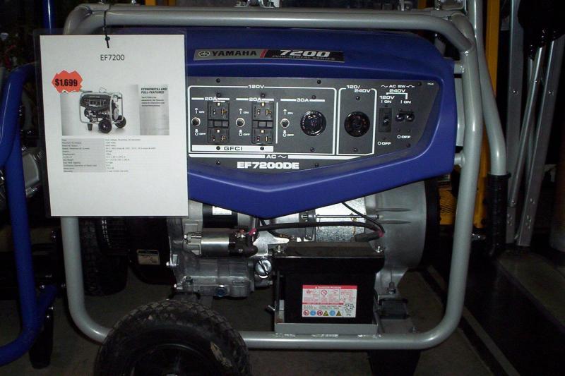 Dual Voltage Generator 7200watts