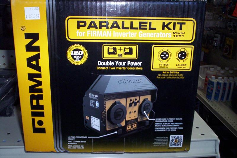 Firman Parallel Kit 1201 REV00