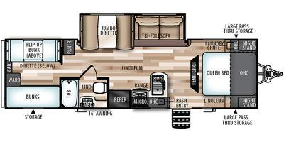 2018 Forest River Inc. WBT29BHHL Travel Trailer