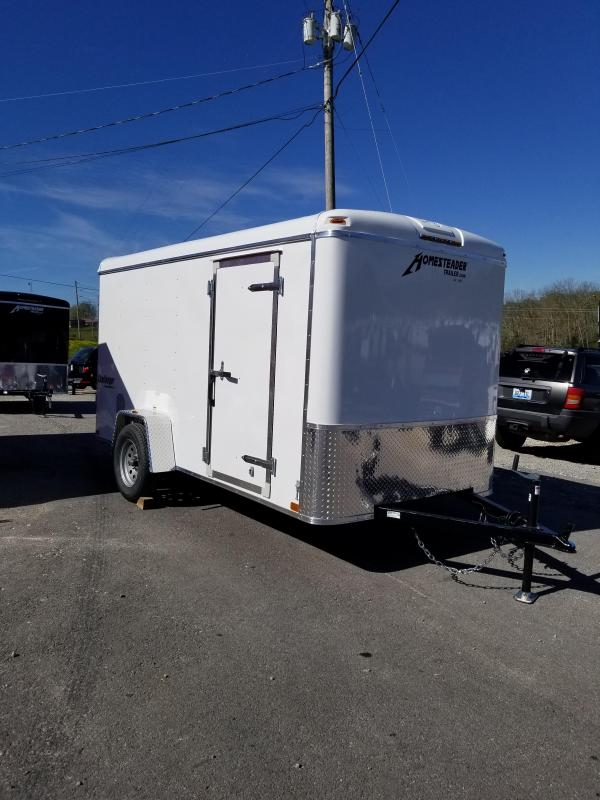 2019 Homesteader Inc. 612CS Enclosed Cargo Trailer