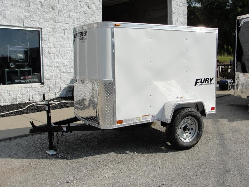 2019 Homesteader Inc. 406FS Enclosed Cargo Trailer