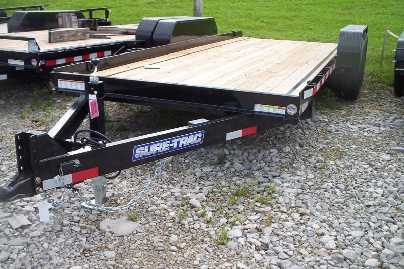 2018 Sure-Trac 7 x 18 Skid Steer 14k